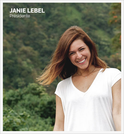 Janie Lebel - présidente